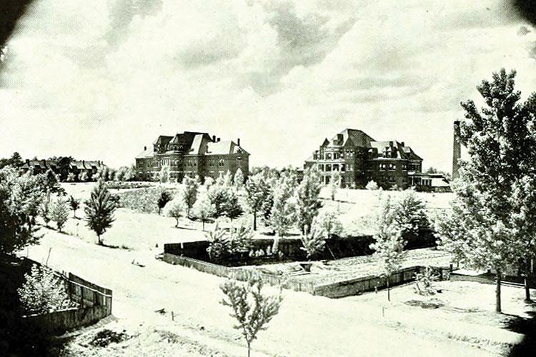 UNCG Campus Photo circa 1893