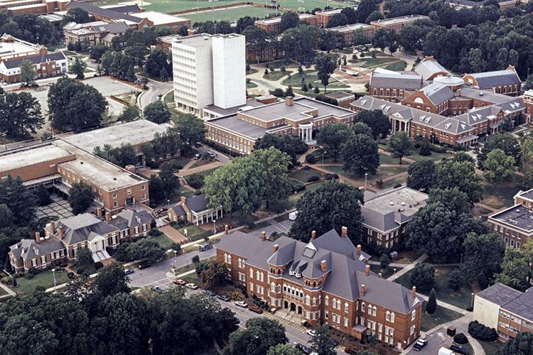 UNCG Campus Photo circa 1995