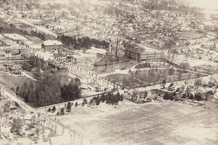 UNCG Campus Photo circa 1920