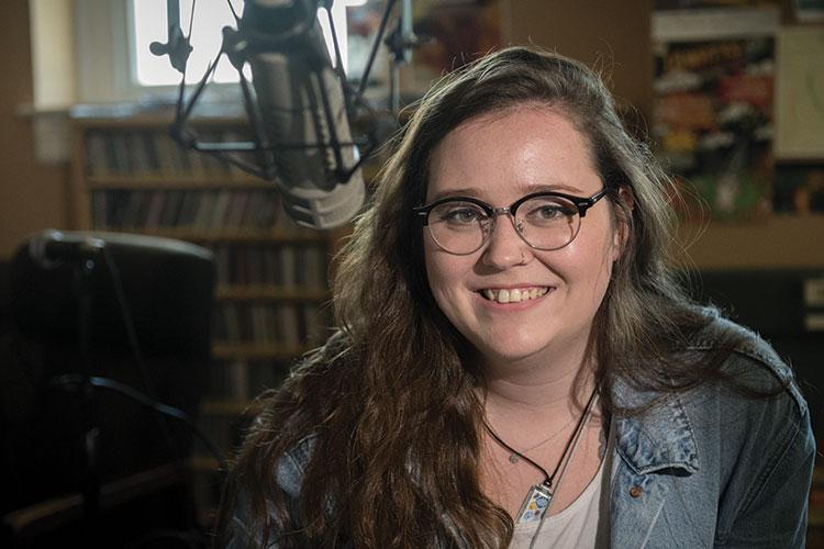WUAG DJ Jen Nelson